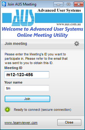 Join Meeting Utility